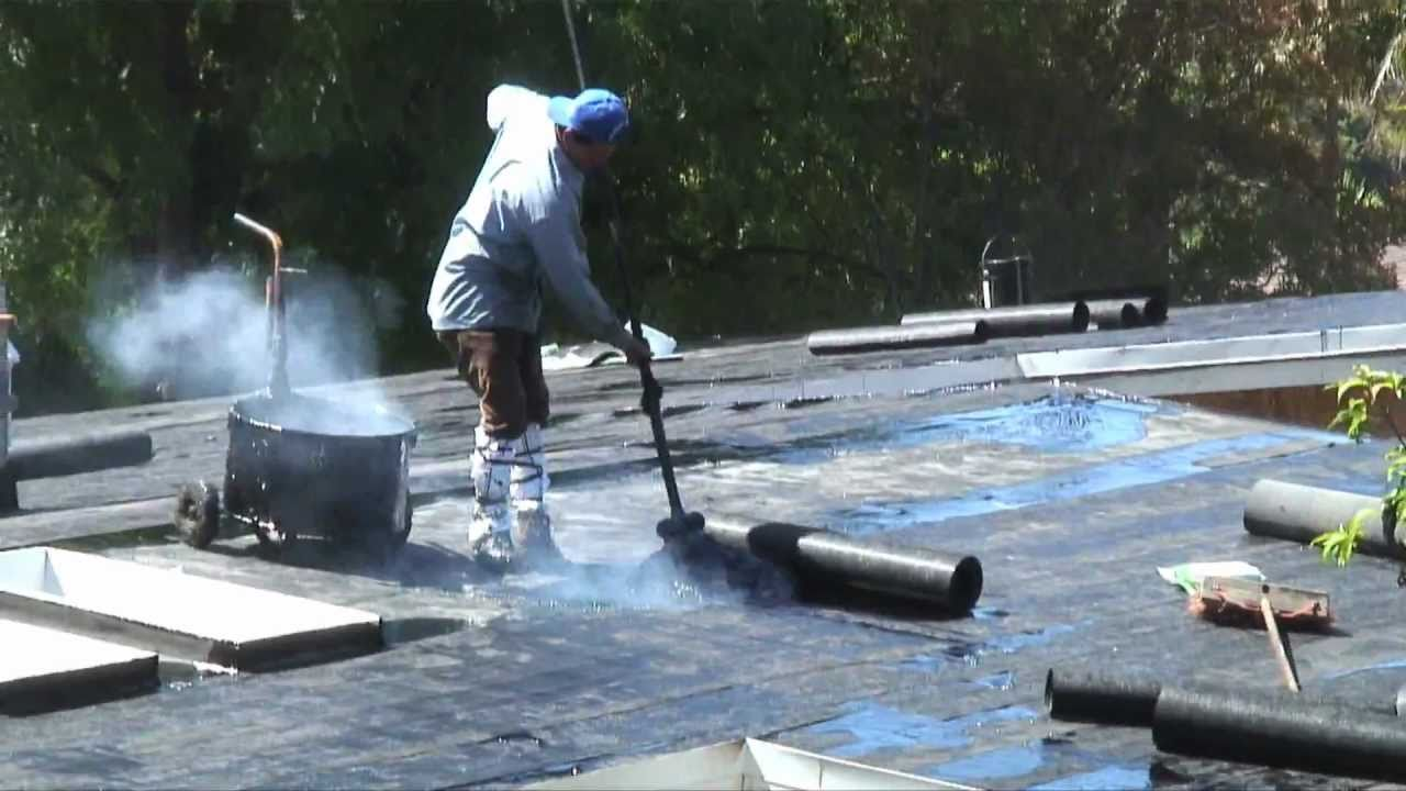 What Is Roofing Tar Cannon Roofing