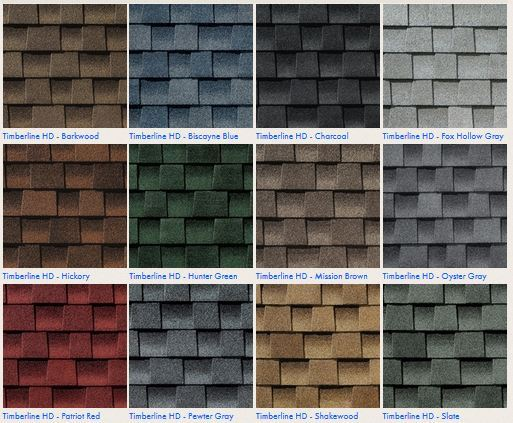 Gaf Shingle Colors Hickory Colorpaints Co
